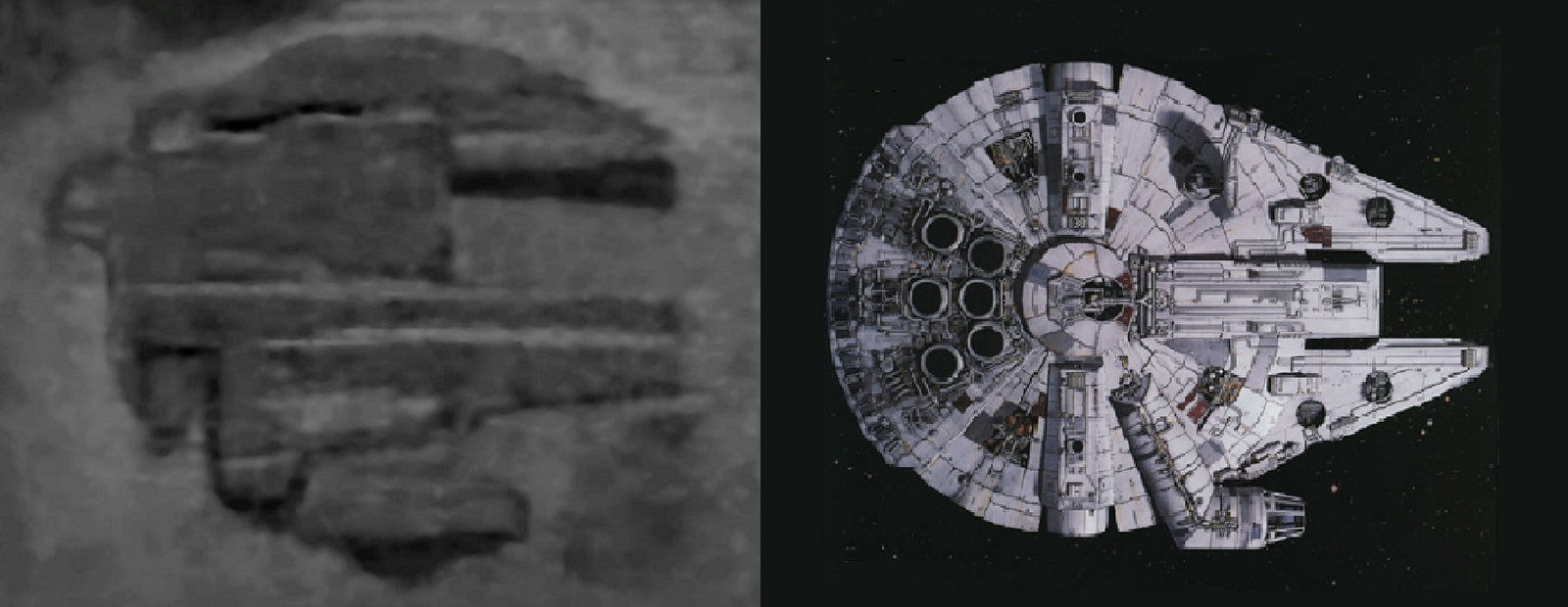 Baltic Sea Rock Anomaly Looks Like the Millennium Falcon